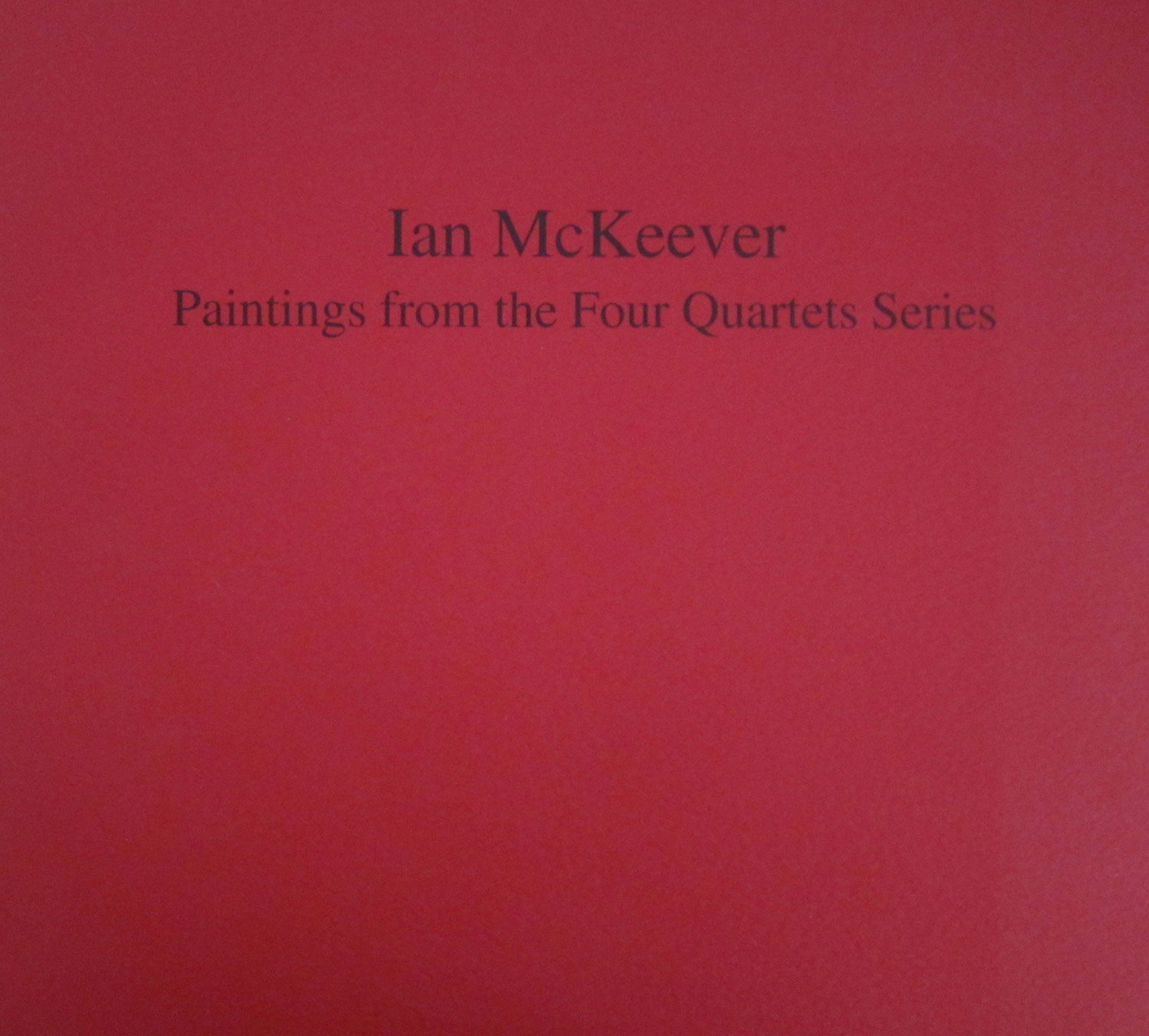 Paintings from the Four Quartets Series