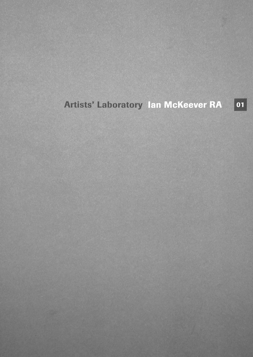 Artist's Laboratory: Ian McKeever RA
