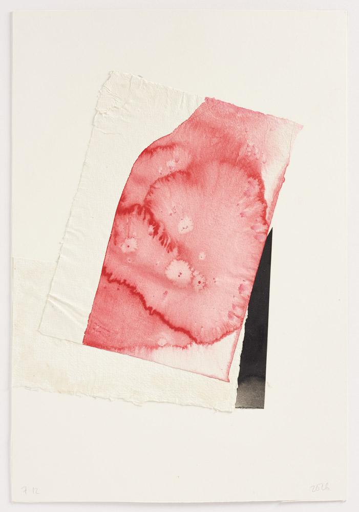 Ian McKeever, Letters 2016 -2017, 57 x 38cm Trieste Contemporanea